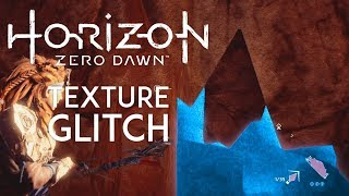 Horizon Zero Dawn | Weird Texture Glitch