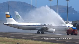 Airbus A321 Lufthansa STUNNING DEBUT in Madeira ✈️✈️