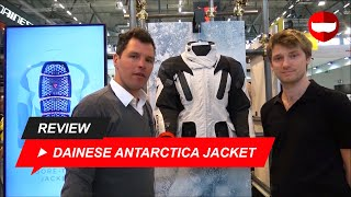 268a3e032a8 Dainese Antarctica Jacket First Look and Review - ChampionHelmets.com