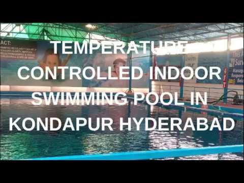 indoor Swimming pool in kondapur hyderabad