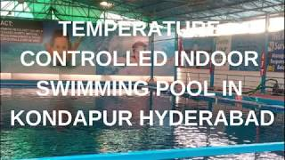 indoor Swimming pool in kondapur hyderabad