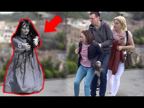 A Haunted Girl Prank For Halloween