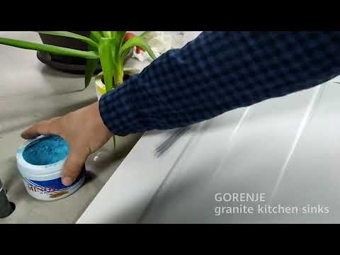 GORENJE Siligor Granite Kitchen Sinks - Scratch Test