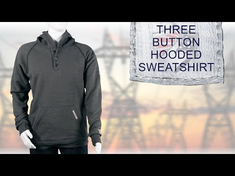 Three button Hooded Sweatshirt M70MT