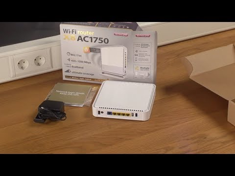 Unboxing en installatie van Sitecom WLR-8100 Wi-Fi Router X8 AC1750 - NEDERLANDS