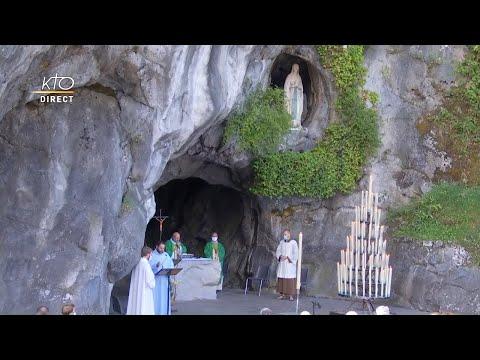 Messe du 3 août 2020 à Lourdes