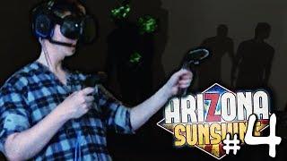 ШАХТА ПОЛНАЯ ЗОМБИ! | Arizona Sunshine | Зомби Апокалипсис в VR - #4