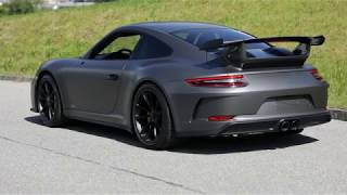 Bodyfence Lackschutzfolie PPF auf Porsche GT2 RS
