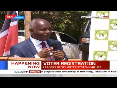 IEBC roll out voter registration in Makueni County