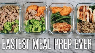EASIEST MEAL PREP EVER | MIX & MATCH MEALS