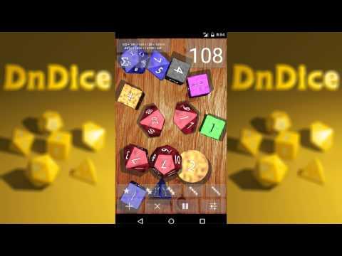 Video of DnDice - 3D RPG Dice Roller
