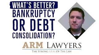 Pennsylvania Bankruptcy Lawyer - Bankruptcy vs  Debt Consolidation