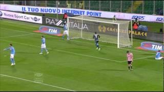preview picture of video 'Palermo-Napoli 3-1 23a giornata di Serie A TIM 2014/2015 Sintesi (4 min)'