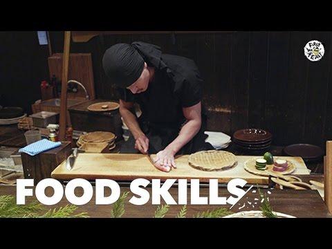 Japanese Robatayaki Should Be an Olympic Sport  | Food Skills