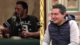 """قهوة أشرف - محمد بركات على طريقة عمرو عبد الجليل: """"أبو تقل دم أمك"""" تحميل MP3"""