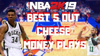 CELTICS MONEY PLAYS- WITH 5 OUT CHEESE TUTORIAL