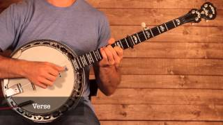 Matthew Mole 'Take Yours, I'll Take Mine' Banjo Lesson (With Tab)