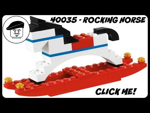 Vidéo LEGO Saisonnier 40035 : Le cheval à bascule