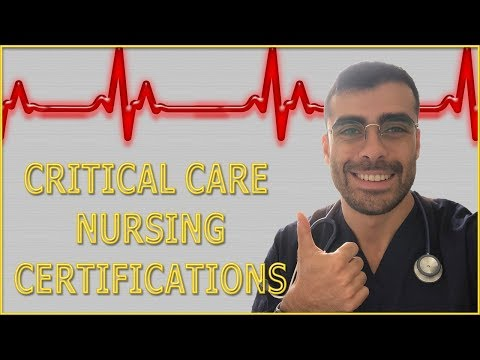 Critical Care Nursing Certifications 2019/2020 - For nurses working ...