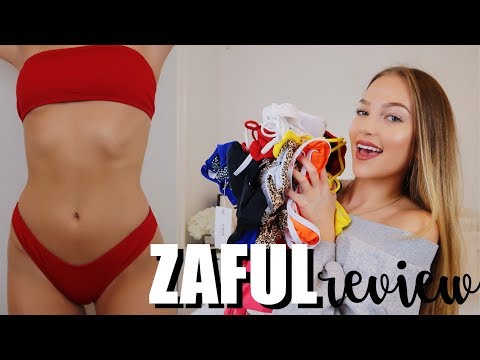 affordable try-on swimsuit haul | maddie cidlik