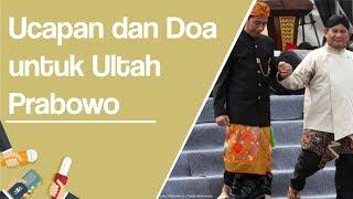 Ucapan dan Doa Kubu Jokowi untuk Ulang Tahun Prabowo