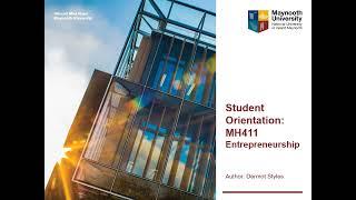 MH411 Entrepreneurship