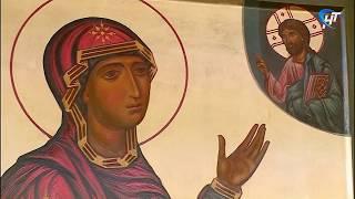 Новгородцы смогут узнать о реставрации иконы «Богоматерь Боголюбская» 12 века