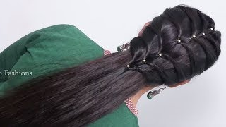 latest wedding guest hairstyles for girls || quick hairstyles | easy hairstyles | cute hairstyles