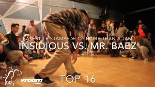 Mr Baez vs NSidDS vs | Popping Top 8 | Bashville Stampede 12: More than a Jam | #SXSTV
