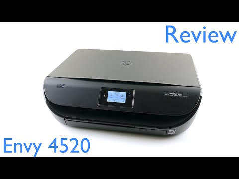HP Envy 4520 All-in-One Printer Review