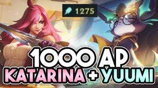 1000+ AP KATARINA YUUMI COMBO BOT LANE | Katlife