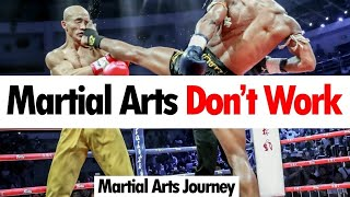 Why Martial Arts Don