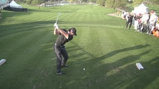 GOLF SWING 2013 - RORY MCILROY IRON DRIVE - ELEVATED DTL REGULAR & SLOW MOTION - 1080p HD