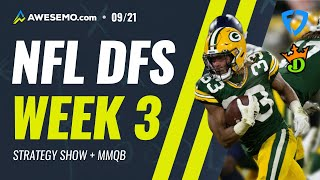NFL DFS PICKS: WEEK 3 MONDAY MORNING QB STRATEGY DRAFTKINGS AND FANDUEL