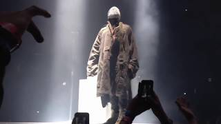 Kanye hits one poopy-di scoop and the crowd goes crazy