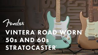 Fender Vintera Road Worn '50s Stratocaster - FRD Video