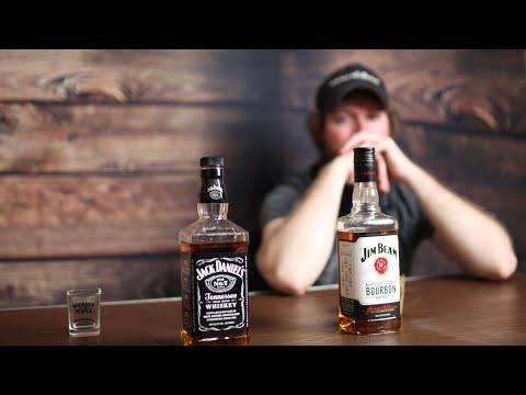 Jack Daniel's V.S. Jim Beam