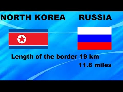 Top 10 Shortest Borders Between Two Countries