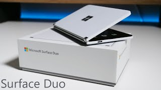 Microsoft Surface Duo Unboxing, Setup, Comparison and Review
