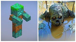 MINECRAFT: MOBS IN REAL LIFE (characters, things)