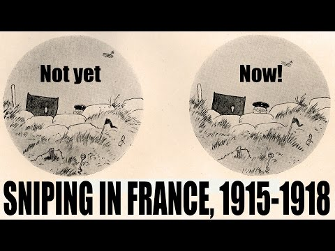 Deerhunting skills in the trenches: Sniping in France, 1915-1918