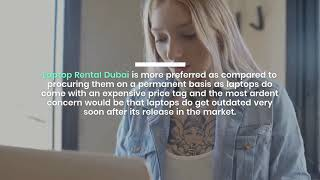 Laptop Rental in Dubai Made Easy for Businesses Events