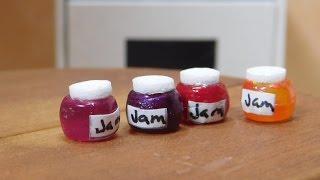 Dollhouse Miniatures  Jars Of Jam
