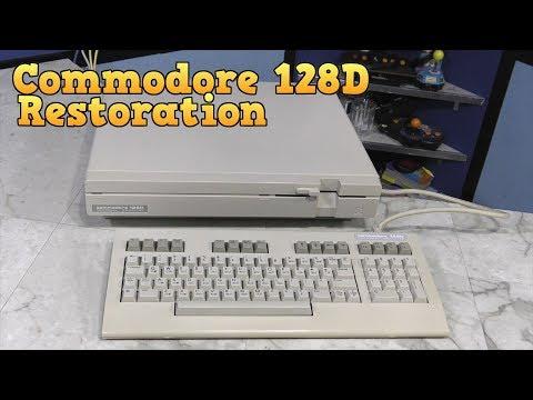 Commodore 128D Restoration