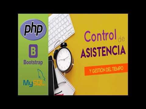 Sistema de Control de Asistencia con PHP y Mysql - Capitulo 0