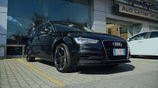 Audi A3 G-tron Тест-драйв.Anton Avtoman