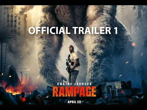 Rampage Trailer #1 (2018) | Dwayne Johnson Movie HD