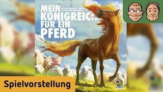 Mein Königreich für ein Pferd – Brettspiel – Spielvorstellung und Regelerklärung