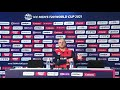 Max ODowd Netherlands speaks to the media conference after losing to Sri Lanka #T20WorldCup - Video