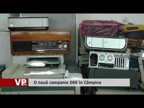 O nouă campanie DEE în Câmpina